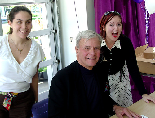 laura and me and Tom Brokaw