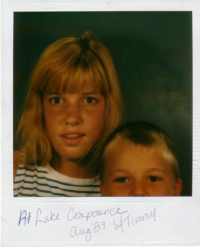 Me, summer 1989