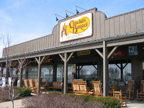 Cracker Barrel in Terre Haute, Indiana