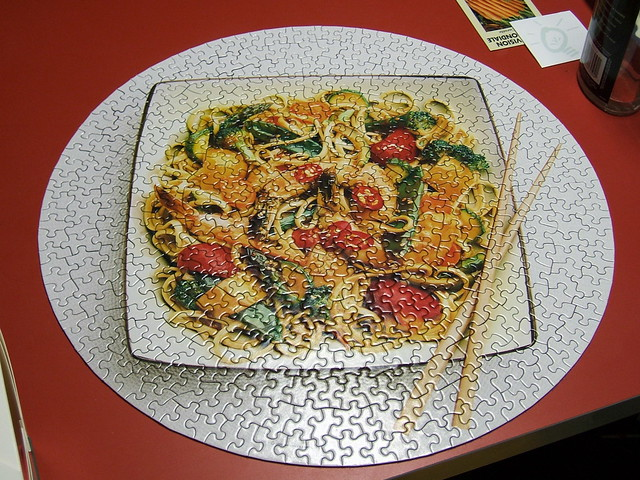 Chinese food box puzzle | Flickr - Photo Sharing!