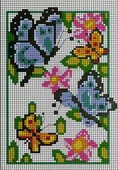 kelebekler şablon