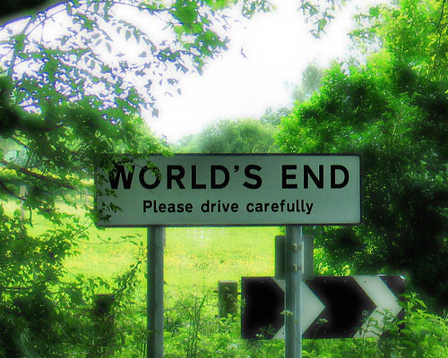 """All roads lead here, and this is where all worlds end"""