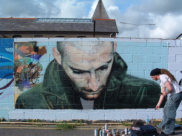 work in progress..... Cork Graffiti