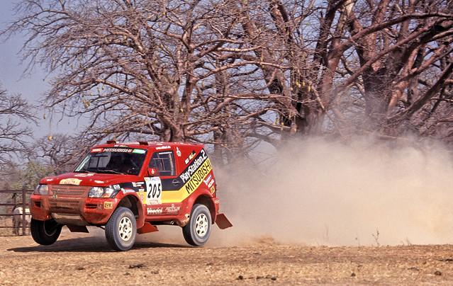 Jutta Kleinschmidt - Dakar '01