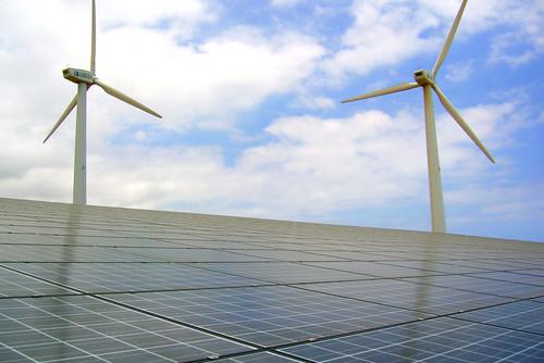 Energia solar y eólica