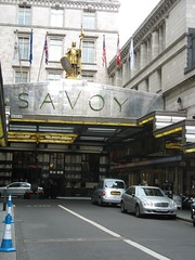 Savoy Hotel, The Strand, London