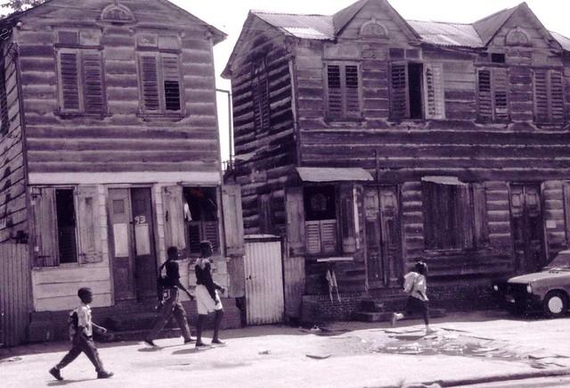 Paramaribo backstreet (Suriname)
