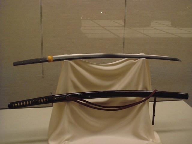 Samurai swords, Edo-Tokyo Museum   Flickr - Photo Sharing!