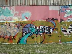 NC Museum of Art, graffiti (Polk Youth Ctr)