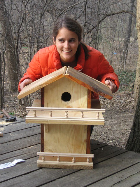 Homemade Squirrel House Flickr Photo Sharing