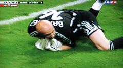 goalkeeper, football player, grass, sports, player, football, lawn, athlete,