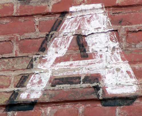 A on bricks | by Claudecf