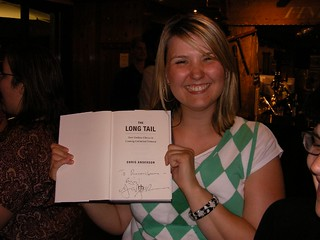 Lisa with the signed Longtail