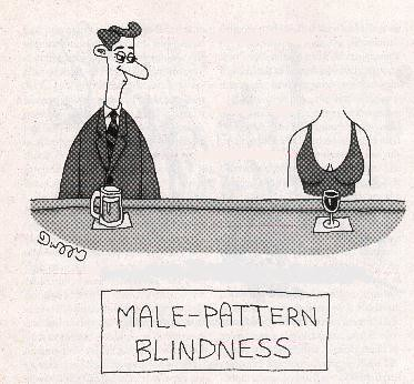 The New Yorker - Male-Pattern Blindness