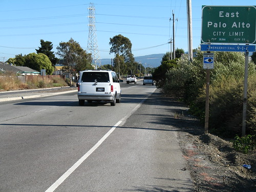 East Palo Alto Bicycle Lane
