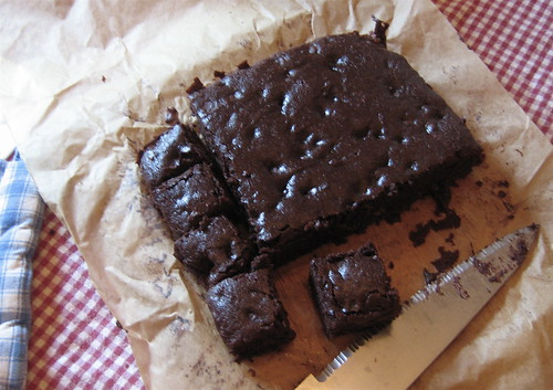 Fudgey Vegan Brownies