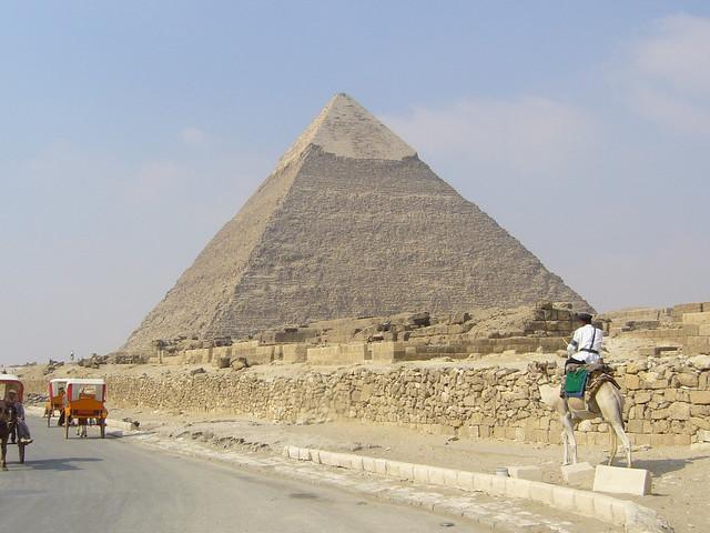 Pyramid of Khafre, Giza - ギザ・カフラー王のピラミッド