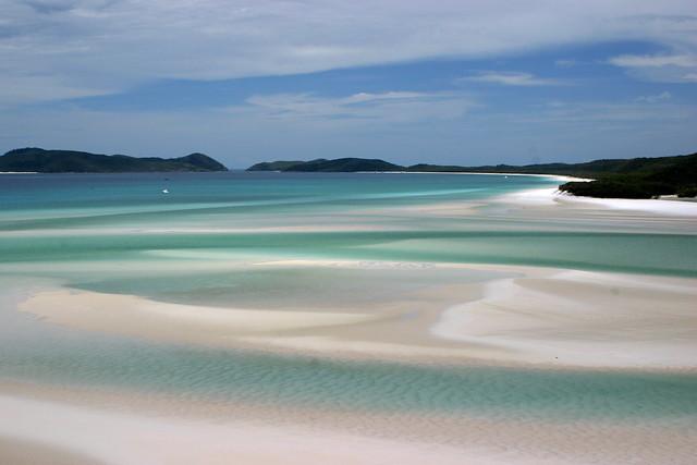 Playa de Whitehaven. Australia