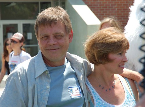 Mark Hamill and Marilou York