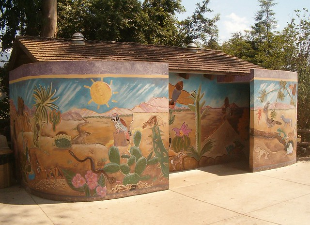 Zoo restrooms flickr photo sharing for Zoo bathroom decor
