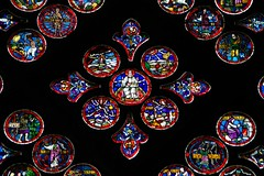 art, pattern, symmetry, glass, design, circle, stained glass,