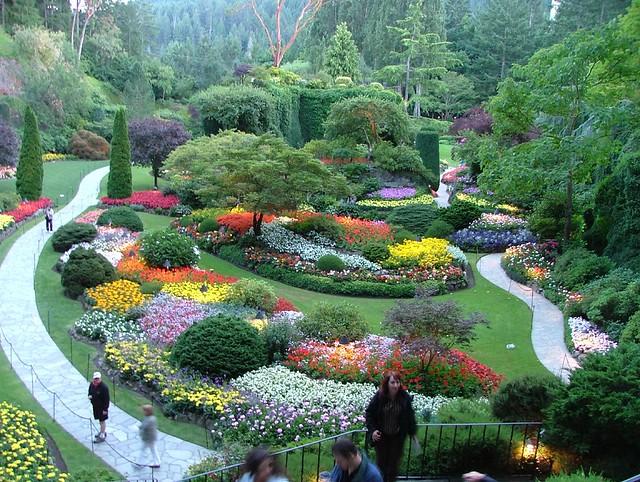 Sunken Gardens Butchart Gardens Victoria British Columbia Flickr Photo Sharing