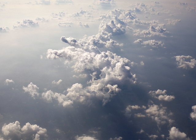 Summer Clouds Over the Atlantic