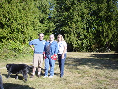 Bob, Cindy & Sue at her new house