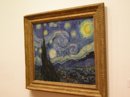The Starry Night, Van Gogh, MOMA