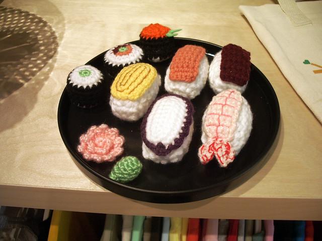 Amigurumi Sushi set