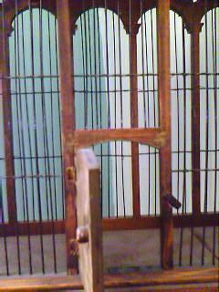 birdcage, open