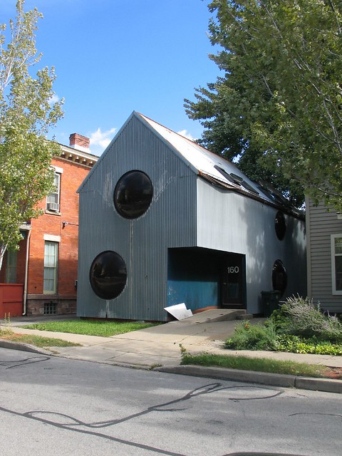 Ugliest house ever, Rochester, NY
