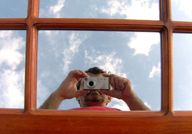 Flickr photo sharing for Autoportrait miroir