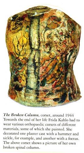 broken column frida kahlo essay
