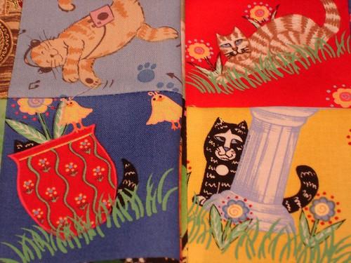 different fabrics different scenes