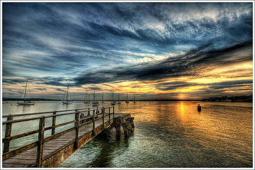 137/365 - HDR - Poole.Hamworthy.Sunset.@.1200x800