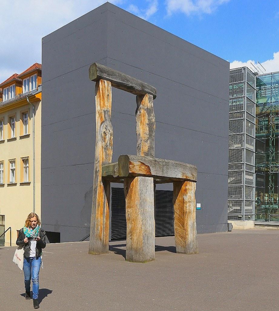 Lehrstuhl - Leerer Stuhl, Hermann Bigelmayr, Bauhaus University, Weimar, Germany, fotoeins.com