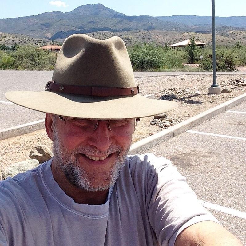 """Paul Edward Ewing III, Arizona Desert Rat"" #paulewing #paulewingIII #paulewing3 #PE3 #zvuchno #mingusmountain #desert #desertrat #yavapaicollege #verdecampus #yavapaicollege2015 #paulewing #zvuchno"