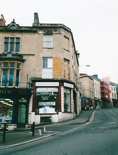 Corner of Market Place and Bath Street, Frome, England - 2001