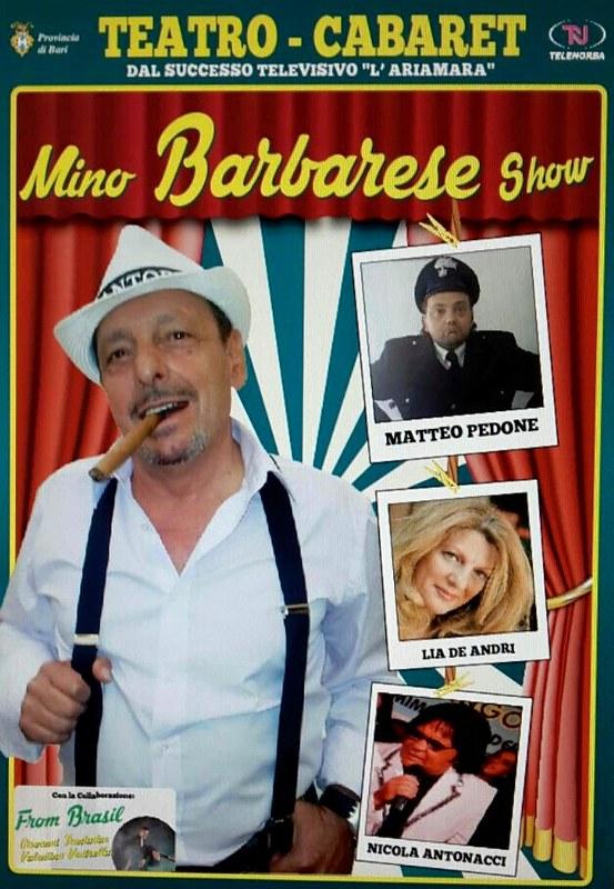 Rutigliano- Mino Barbarese Show