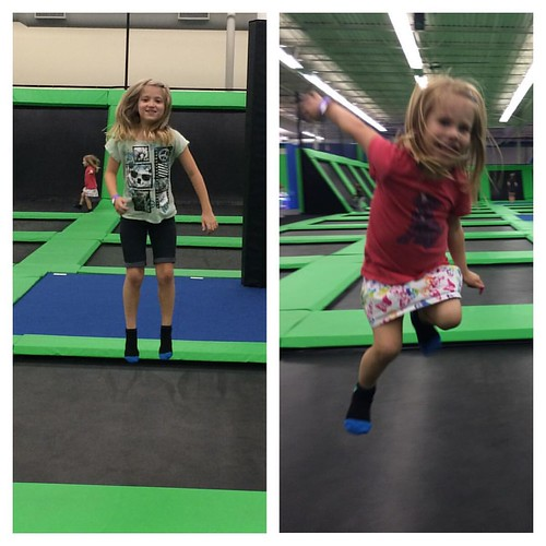 My levitating children at the Launching Pad.