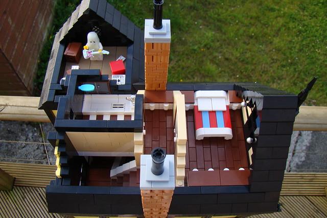 Tudor Style Photographer's - Custom Lego Modular Building