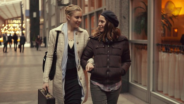 Greta Gerwig and Lola Kirke are almost-sisters in the weirdly delightful MISTRESS AMERICA.
