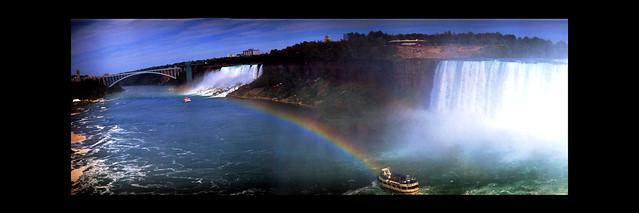 Niagara Falls with Krasnogorsk Fuji Velvia 50