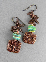 Owl Be There Earrings