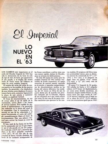 Mecánica Popular 1963 Febrero - El Imperial
