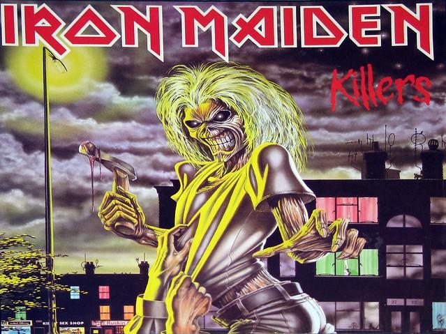 "IRON MAIDEN - Killers Germany 12"" VInyl LP"