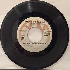 THE BROTHERS JOHNSON:STRAWBERRY LETTER 23(RECORD SIDE-B)