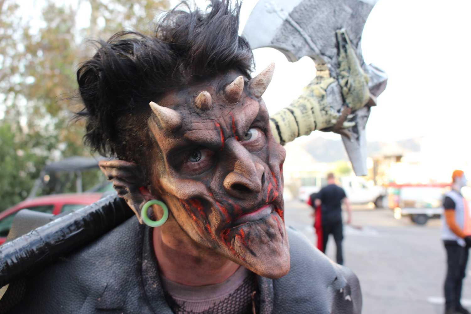 six flags magic mountain fright fest 2015 makeup
