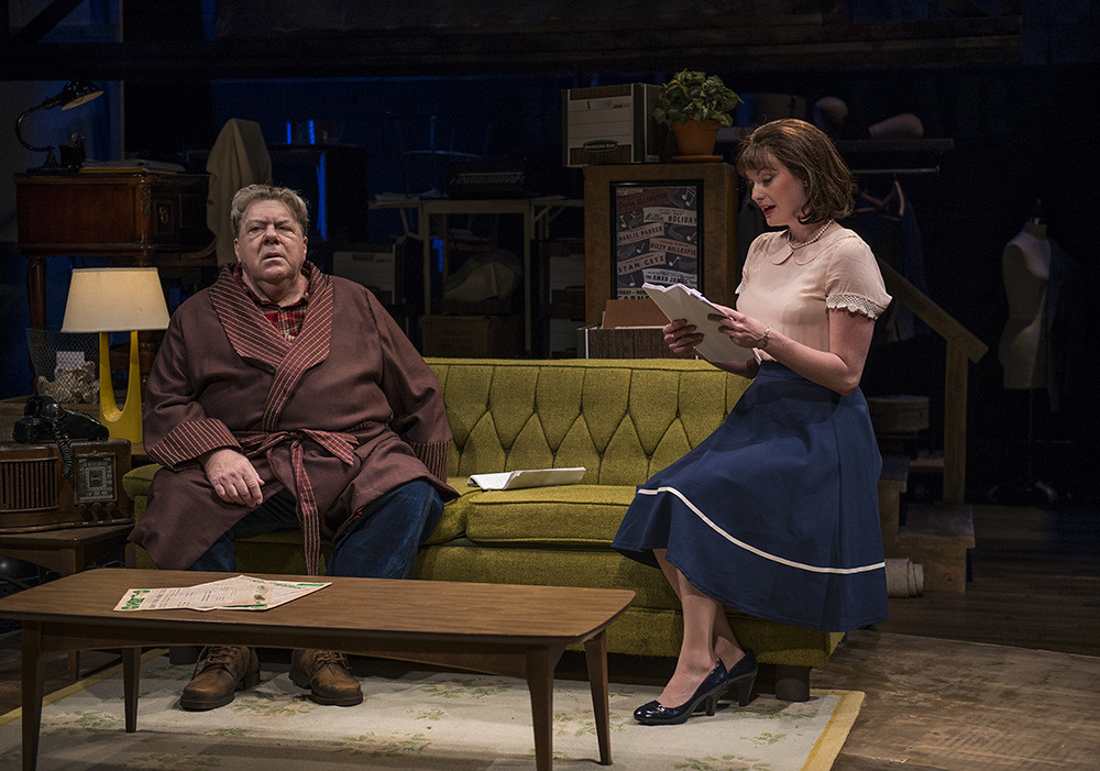 George Wendt and Amanda Drinkall